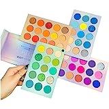 Beauty Searcher 60 colores Paleta de sombras de ojos 4 en 1 Paleta de colores Paleta de maquillaje Alto pigmentado Color bril