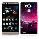 FUBAODA Huawei Ascend Mate 7 Cover, Alta qualità Bella Aurora Notte Serie TPU Skin Cover Protettiva Shell Custodia per Huawei Ascend Mate 7