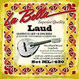 CUERDAS LAUD - La Bella (ML/450) (Juego Completo)