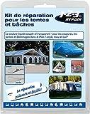 Zelt & Planenreparaturset Reparaturset Zelt Vorzelt Planen PVC Pool Schlauchboot Camping Kleber -