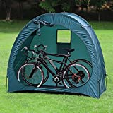 hj JH Tenda per Biciclette, Copertura di Protezione per Bici, Blu Scuro
