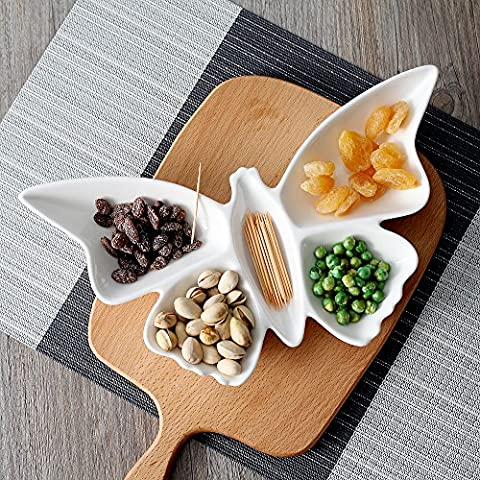 Kreative keramische Platten, verschiedene Gerichte, hotel Platten, personalisierte Schmetterlinge, Obst Platten, Haushaltsgegenstände, 12 Zoll