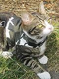 Mynwood Cat Jacket/Harnais Arctic Combat pour Chats...
