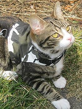 Mynwood Cat Jacket/Harnais Arctic Combat pour Chats Adultes?évasion Preuve