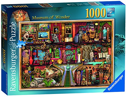 Discover historic artefacts, superb jewels, porcelain, sculptures and more on this amazing jigsaw puzzle!;This puzzle would make a great gift for anyone interested in museums and galleries;A challenging jigsaw puzzle packed with detail;Illustrated by...