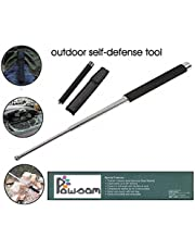 PAWSAM® Tactical Heavy Steel Stick for Camping and Trekking -Pole