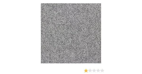 Farben:Grau BilligerLuxus Teppichfliese selbstklebend Nadelfilz 25er Set ca 4m/² Filzfliese