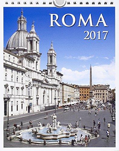 Calendario 12 mesi 2017 Roma Piazza Navona