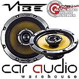 """VIBE BLACKAIR 5 - 480 Watts a Pair 5.25"""" inch 13cm Co-axial Car Van Door Speakers"""