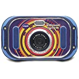 VTech- Kidizoom Touch 5.0 Appareil Photo, 163505, Bleu - Version FR