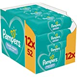 Pampers Fresh Clean Babydoekjes - 12 x 52 doekjes