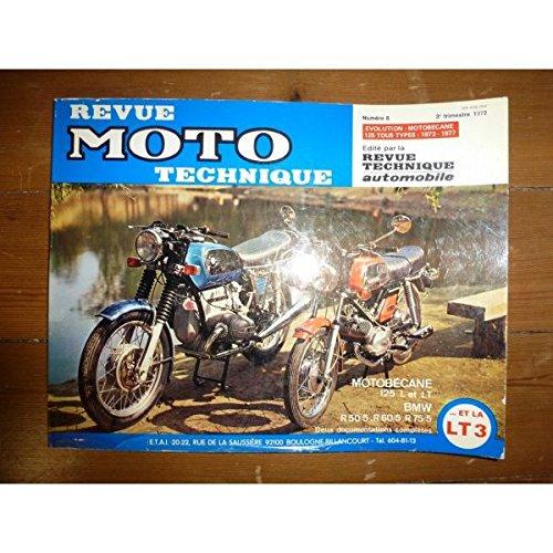 Ré-édition - 125 L LT R50 R60 R75 Revue Technique moto Bmw Motobecane