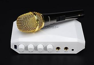 Generic (Unbranded) Hd-Hyundal Hdmi Karaoke Mixer - Dual Microphone Input, Echo Effect, Individual Volume Controls