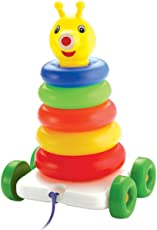 SARTHAM, Stacking and Pulling Toy for Toddlers (Age 1 to 3)