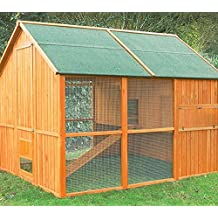 Gallinero Noruega con capacidad para 10-12 gallinas - El más grande del mercado!