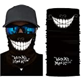 MMLC Fishing Face Shields Bedrucktes Multifunktionstuch Bandana Halstuch Kopftuch: Face Shield aus Mikrofaser - Material…