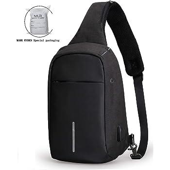 7711a0a686af Mark Ryden Anti-Theft Sling Shoulder Cross Body Bag Backpack Casual Day  Pack for Men Women