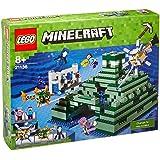LEGO - 21136 - LEGO Minecraft - Jeu de Construction - Le Monument Sous-Marin