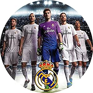 Disque Comestible Azyme Real Madrid