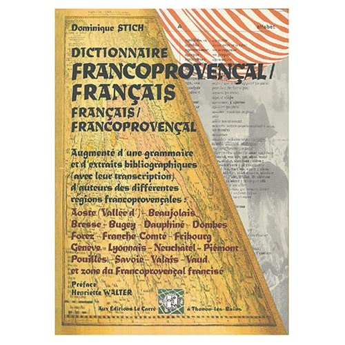 Dictionnaire des mots de base du francoprovençal : Orthographe ORB supradialectale standardisée