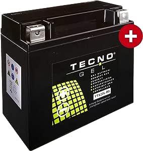 YTX20L-BS Tecno Batteria Gel per Fxcwc 1584 C Softail Rocker C Anno 2008-2010