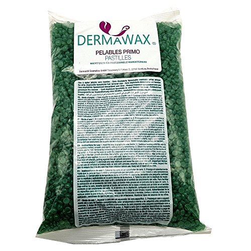 1 kg Grün Niedrigtemperatur Premium Wachsperlen ohne Wachsstreifen für Enthaarung, Haarentfernung Brazilian Waxing ganz Körper Intim, Beine, Gesicht und Arme