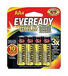 Eveready Gold Alkaline Batteries AA