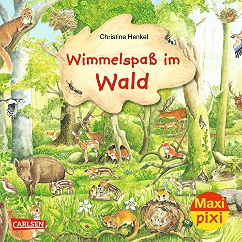 Maxi Pixi 282: Wimmelspaß im Wald - Pixi-duo