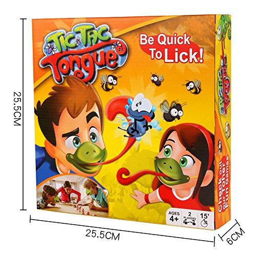 12shage Tongue Spiel Catch Bugs Joint Take Card-Eat Pest Auto Double Game Desktop-Brettspiele Kinder Erwachsene