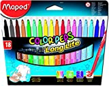 Maped M845021 - Filzstifte Color Peps Longlife, 18er Packung