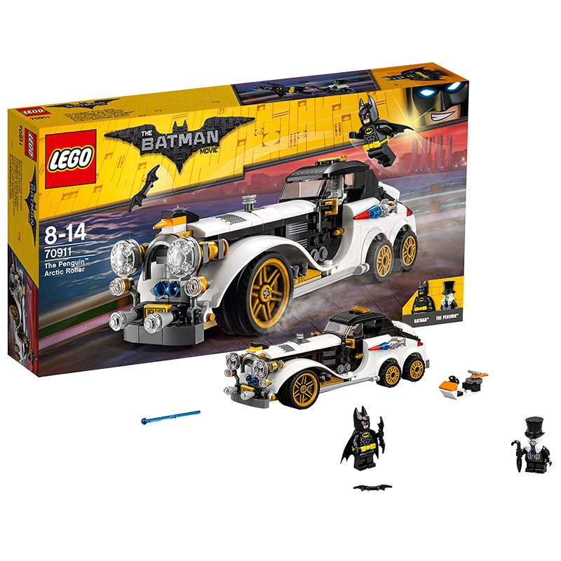 LEGO Batman Movie Arrollador ártico de The Penguin – juegos de construcción, multicolor