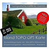 Island Garmin Karte TOPO 4 GB microSD. Topografische GPS Freizeitkarte für Fahrrad Wandern Touren Trekking Geocaching und Outdoor. Navigationsgeräte, PC & MAC
