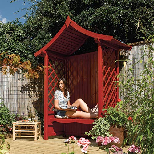 Tenbury Arbour Pressure Treated Wooden Timber Garden Seat