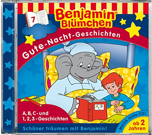 Gute Nacht Geschichten - Folge 7: A, B, C und 1, 2, 3 Geschichten