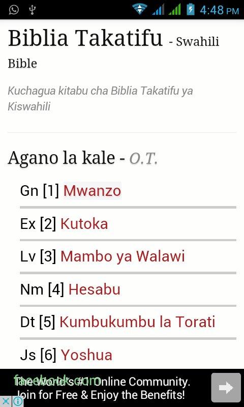 Biblia Takatifu Amazon Co Uk Appstore For Android