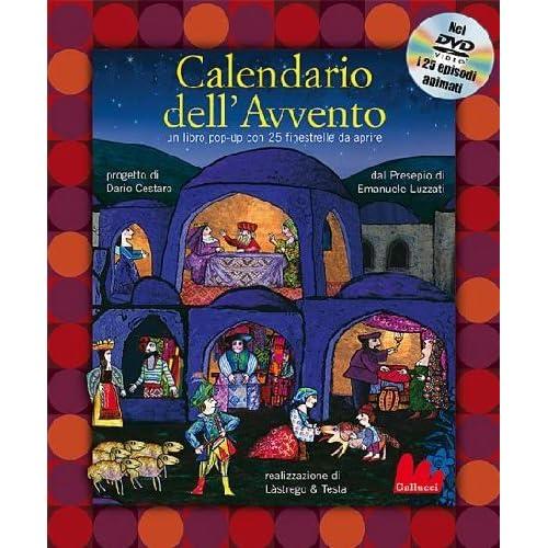 Calendario Dell'avvento. Libro Pop-Up. Ediz. Illustrata. Con Dvd