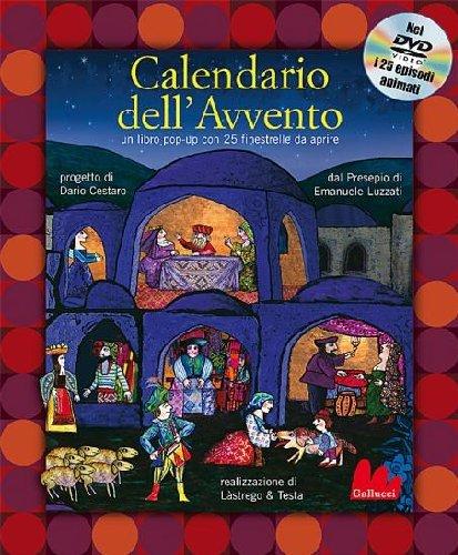 Calendario dell'Avvento. Libro pop-up. Con DVD