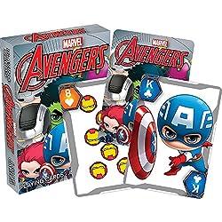 Aquarius–Marvel Los Vengadores Chibi juego de cartas