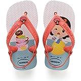 Havaianas Unisex Baby New Born Disney Princess White/Strawberry Color Flip-Flop (HV4139481-2478-190)