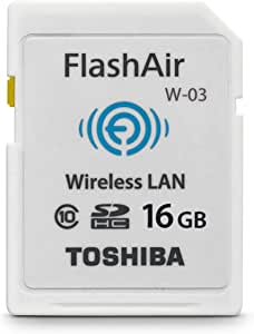 Toshiba Flash Air 16 Gb Class 10 Kabellose Speicherkarte Wifi Sd Karte
