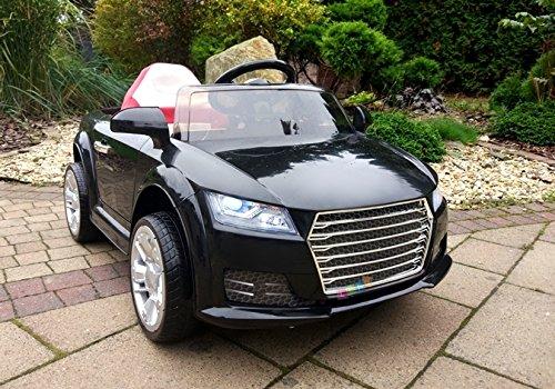 Elektro Kinderauto Elektrisch Ride On Kinderfahrzeug Elektroauto Fernbedienung - YC518 - Schwarz