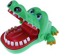 BEBIG Large Crocodile Mouth Dentist Bite Finger Game Funny Toy Gift