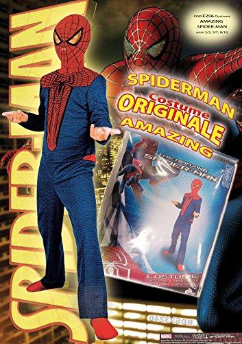 Imagen de marvel  disfraz de spiderman para niño, talla 3  5 años e256 001  alternativa