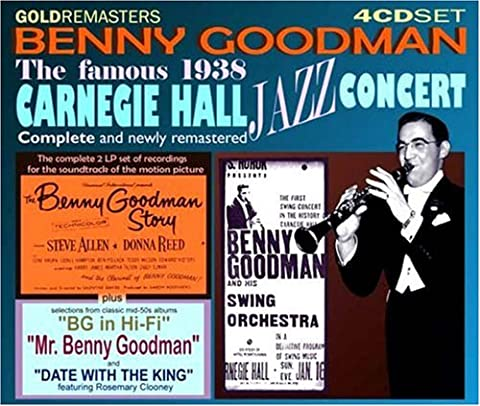 Benny Goodman - Famous 1938 Carnegie Hall Jazz [Import