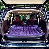 SUPERWORLD® Colchon Coche portátil SUV, colchon inflable con bomba de aire, Doble Cama colchones de aire para coche, colchones inflables con inflador electrico para viajes al aire libre y camping