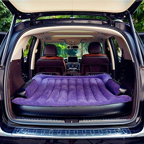 Foto de SUPERWORLD® Colchon Coche portátil SUV, colchon inflable con bomba de aire, Doble Cama colchones de aire para coche, colchones inflables con inflador electrico para viajes al aire libre y camping