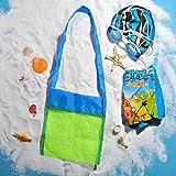 KC-Petite-taille-Kids-Toy-Shell-jouets-de-plage-de-sable-sac-de-plage-grille-de-collecte-de-poche-jouets-Jeux-aquatiques-briques-Lego-Mesh-Tote-Pour-Declutter-2-pcs