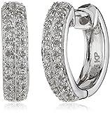 Diamonds by Ellen K. - Damencreole 585 Weißgold 40 Diamanten 0,10 Karat 317310008-3