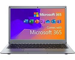 Jumper Portátiles 13.3 Pulgadas,Microsoft Office 365, Ordenador Portátil 4GB+64GB eMMc, PC Laptop de Sistema Operativo Window