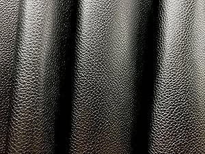 Leder Lederhaut ganze Haut schwarz gepägt